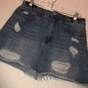 Dresses & Skirts - Cute denim skirt!